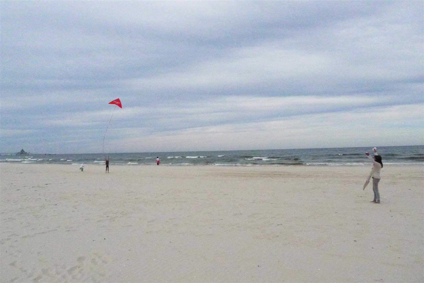 Beach at Heringsdorf