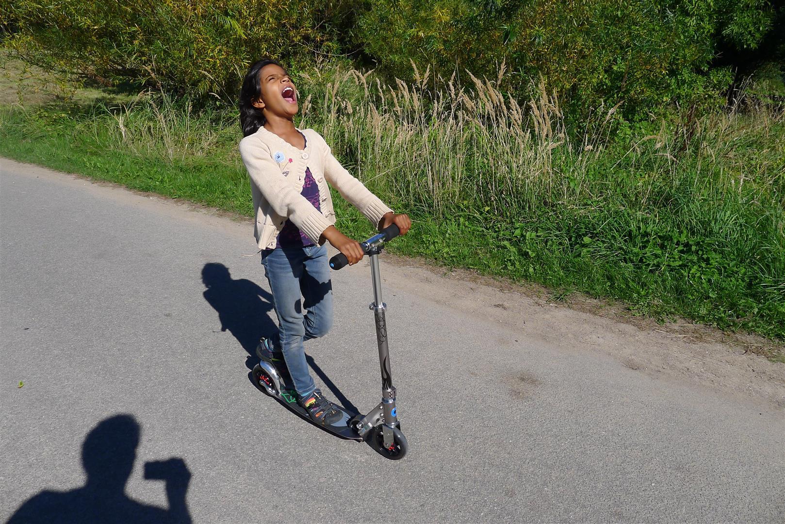 Scooter thrills