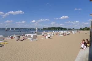 The Strandbad -- bathing beach