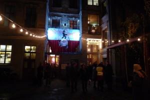 entrance to Clärchen's