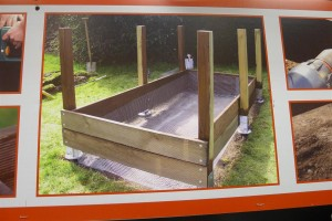 building compost bins is easy