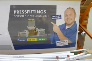 press fittings: quick & dependably tight