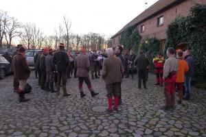 2 pre-hunt gathering