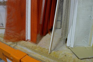 beads for corners and window returns
