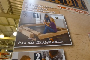 building a timber bed is easy