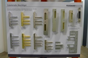 hinge systems and strike plates