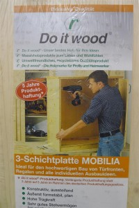 """Just  """"Do it wood"""""""