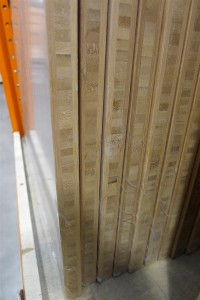 bamboo panel edges