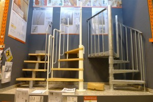 stairs for tight spaces