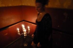 stairwell candelabra
