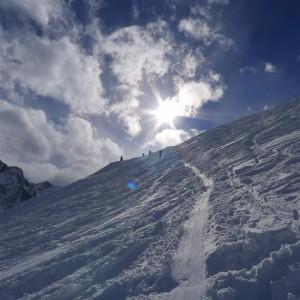 14 sunlight on snow