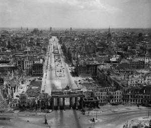 Brandenburg Gate, 1945