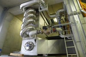 condenser for heat recovery