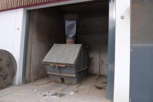 dumpster for ash
