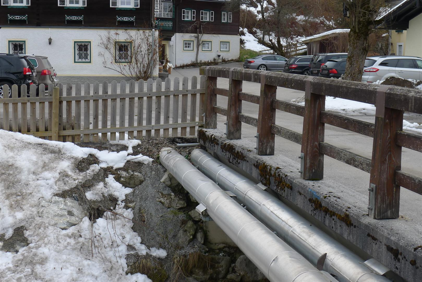 District Heating System in Flachau Austria Snapshots from Berlin #5B4D46