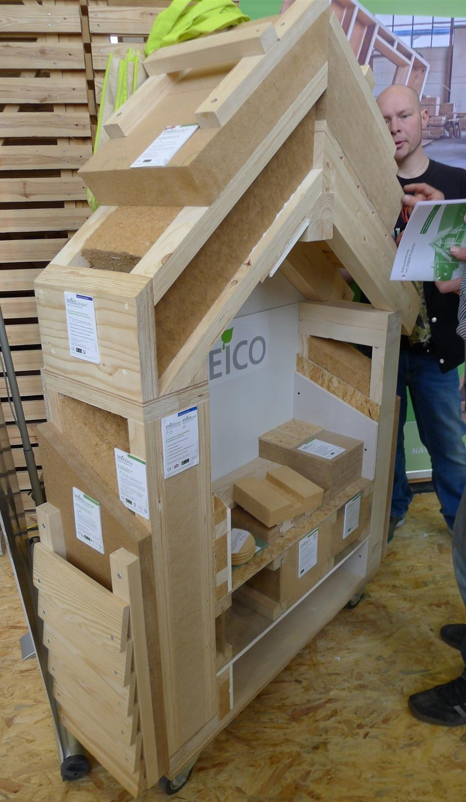 Wood Fiberboard Insulation ~ Bautec snapshots from berlin