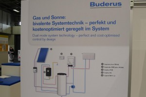 Buderus system with integrated solar thermal