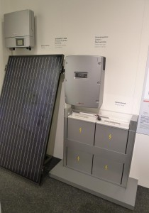 Viessmann PV system with integral battery array