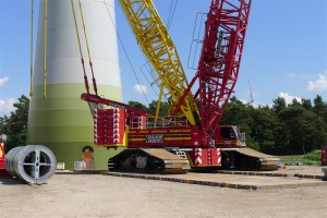 crane for tower assembly