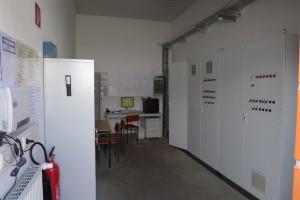 biogas plant control room