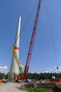 tower and crane