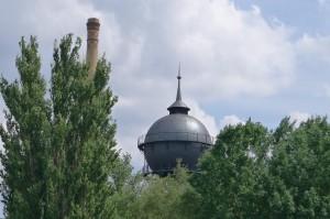 water tower at Gleisdreieck