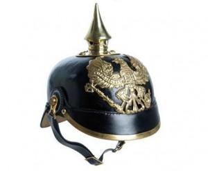 Prussian Pickelhaube helmet